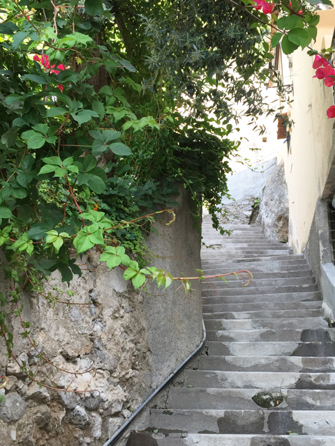 Stairs in Positano Photo by Margie Miklas