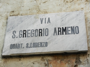 San Gregorio Armeno in Naples - Photo by Margie Miklas
