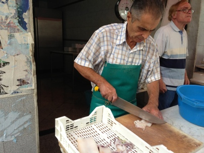 at the market in Catania Photo by Margie Miklas