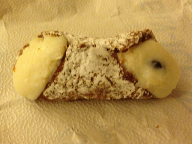 Cannoli in Sicily photo by margie Miklas