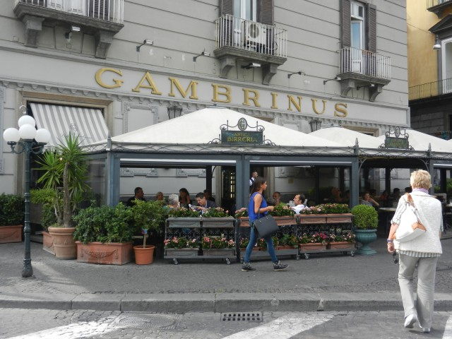 Gran Caffè Gambrinus in Naples Photo by Margie Miklas
