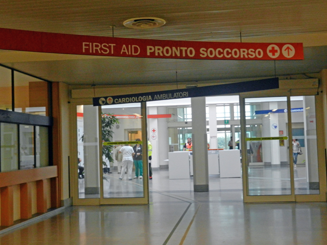 ER - Hospital in Venice -Photo by Margie Miklas