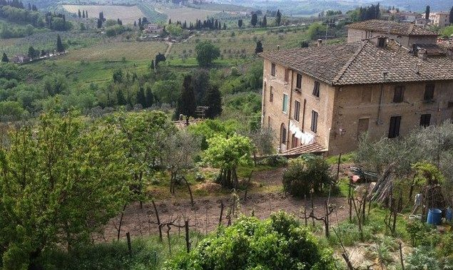 View from San Gimignano Rocca Photo by Margie Miklas