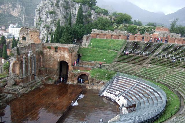 Taormina Greek Theatre Photo by Margie Miklas