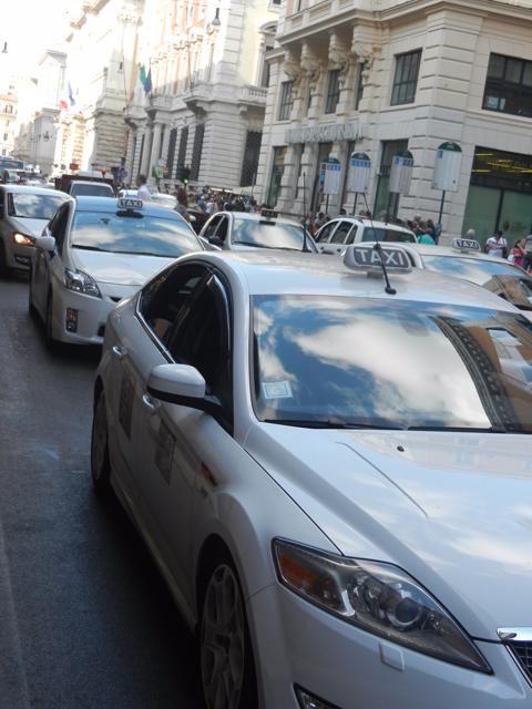 Traffic in Rome Photo by Margie Miklas