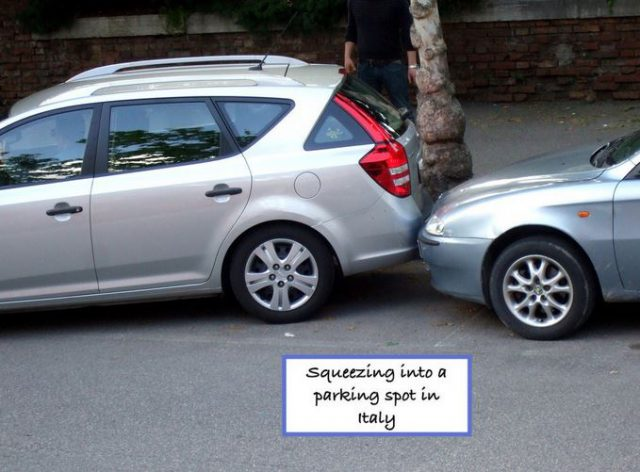 Italy Parking spot Photo by Margie Miklas