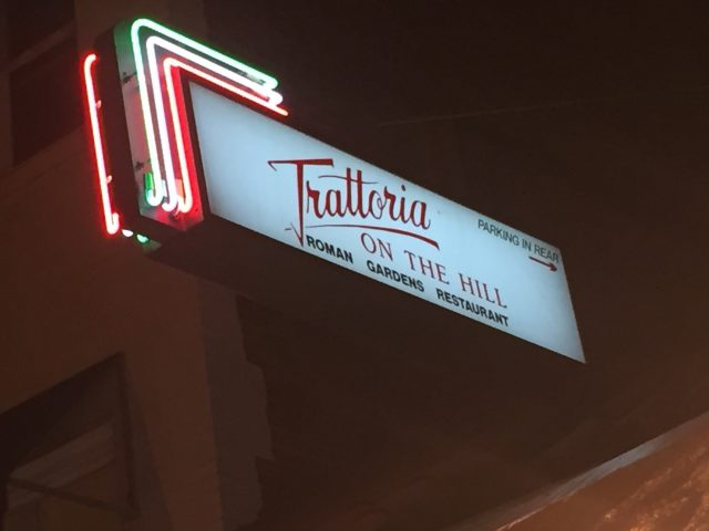 Trattoria on the Hill Little Italy Cleveland Photo by Margie Miklas