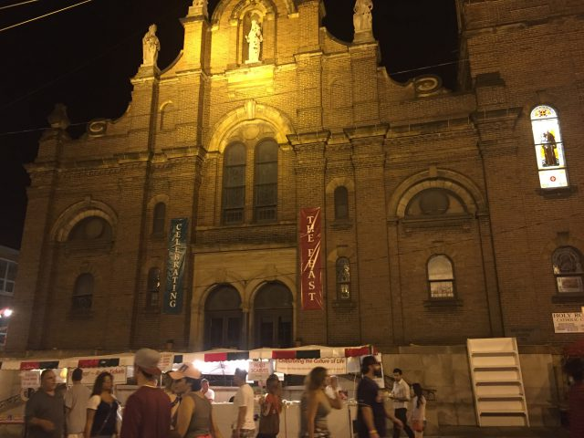 Holy Rosary Church Little Italy Cleveland Photo by Margie Miklas