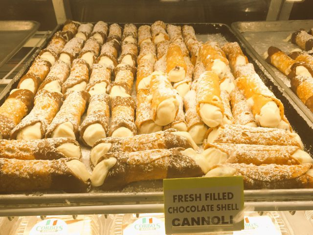 Cannoli Little Italy Cleveland Photo by Margie Miklas