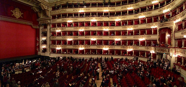 La Scala Photo by Ana and Michal (Flickr) https://www.flickr.com/photos/michalo/