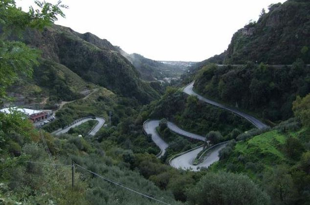 Sicily winding roads Photo by Margie Miklas