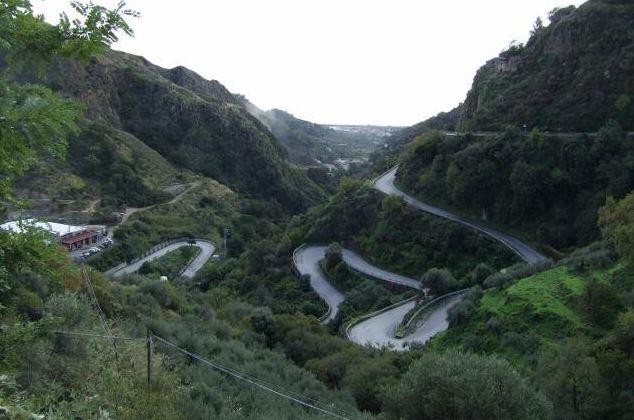 Sicily winding roads Photo by Margie Miklas