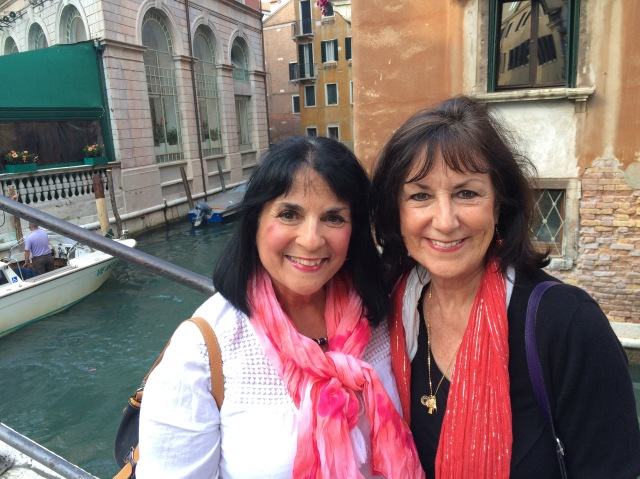 Victoria and Margie in Venice Photo by Victoria De Maio