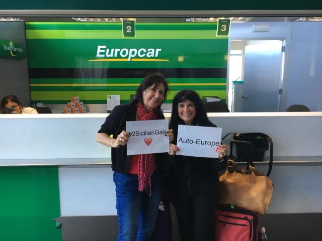 #2SicilianGals EuropeCar