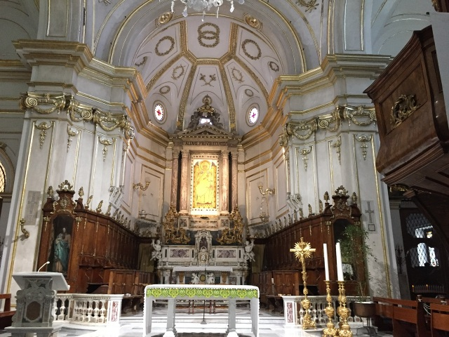 Positano church Photo by Margie Miklas