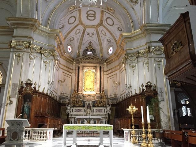 Positano church Photo by Margie Miklas