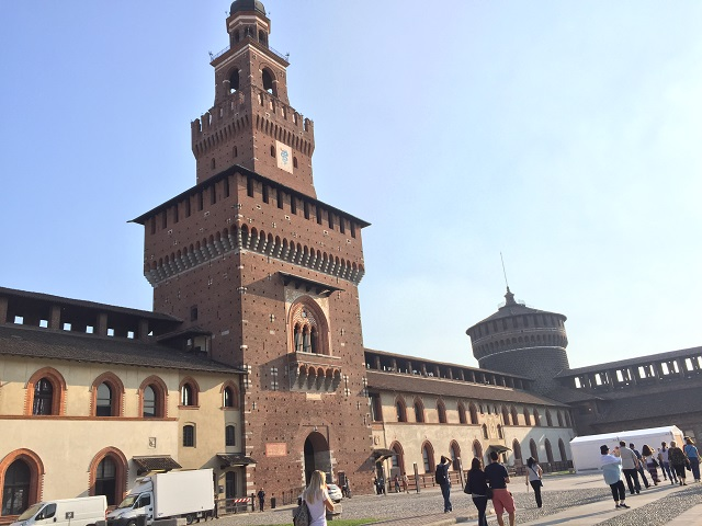 castle-sforzesco-milan Photo by Margie Miklas