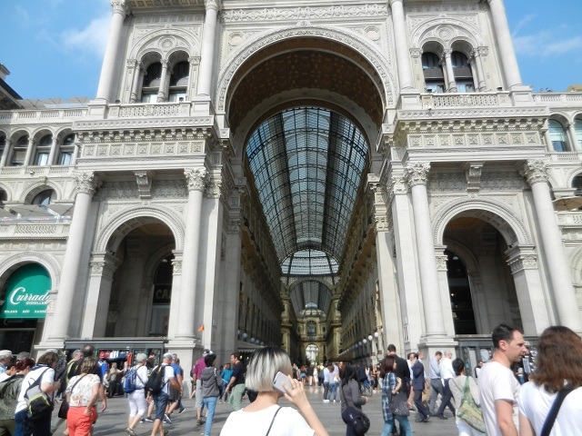 Milan Galleria Photo by Margie Miklas