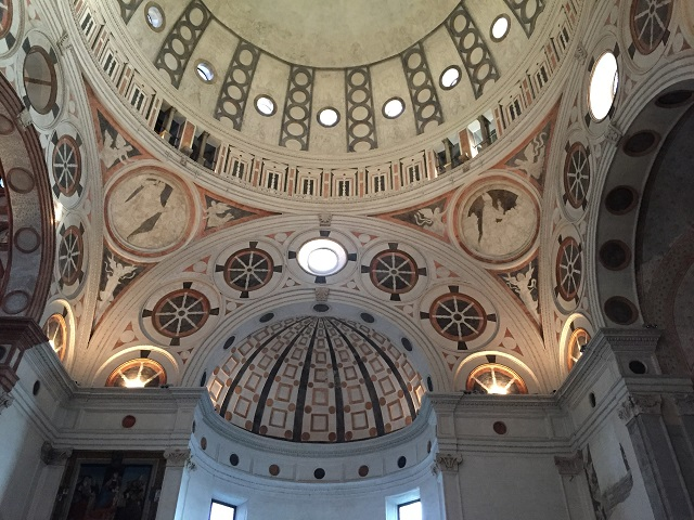 santa-maria-delle-grazie-dome Photo by Margie Miklas