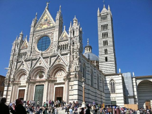 Siena Cathedral Post by Margie Miklas