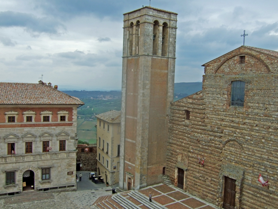 Church of Saint Agostino in Montepulciano Photo by Margie Miklas