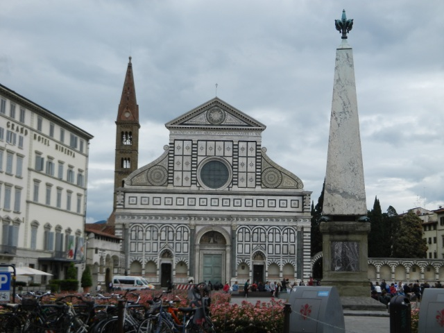 Piazza Santa Maria Novella in Florence Photo by Margie Miklas