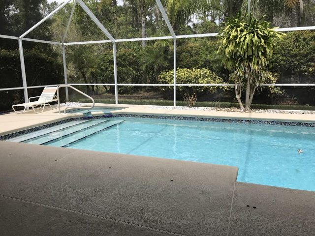 Pool in Florida photo by Margie Miklas