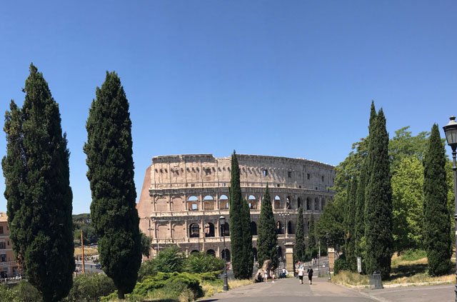 Exploring Rome with a Local Coliseum Photo by Margie Miklas
