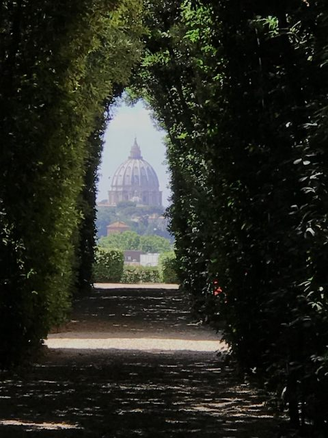 Exploring Rome with a Local - Keyhole Photo by Margie Miklas