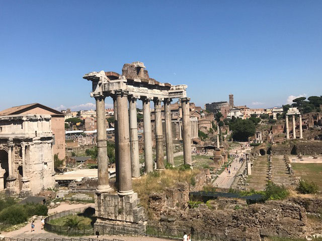 Roman Forum views Photo by Margie Miklas