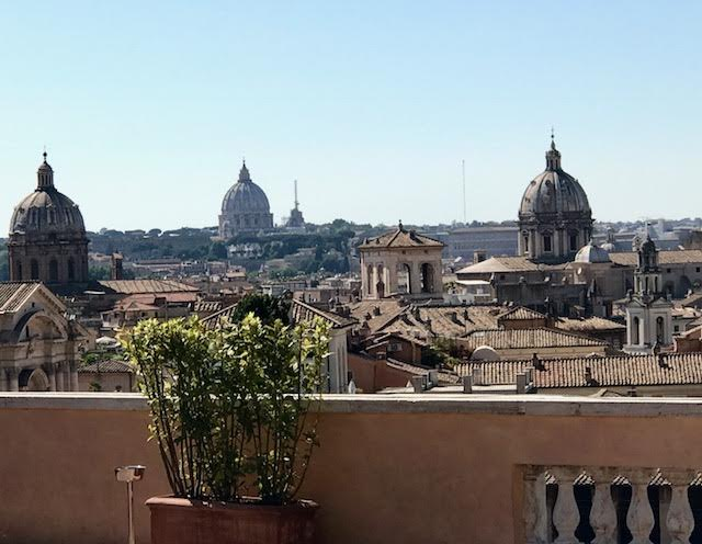 Rome view from Capitoline Hill Photo by Margie Miklas
