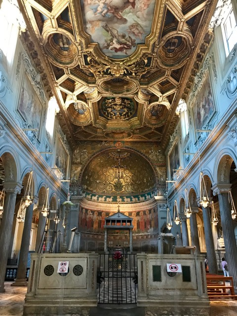 Basilica di San Cemente Rome Photo by Margie Miklas