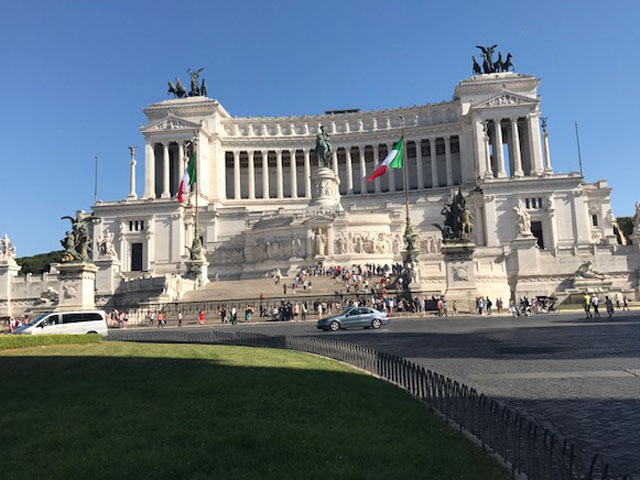 Vittorio Emanuele II Monument Rome Photo by Margie Miklas
